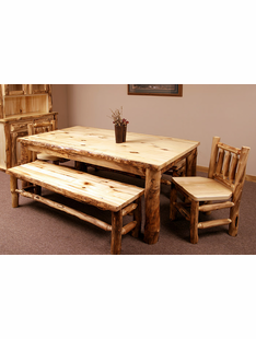 BLUE RIDGE ASPEN DINING TABLE 6'