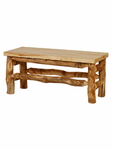 BLUE RIDGE ASPEN DINING TABLE BENCH 58""