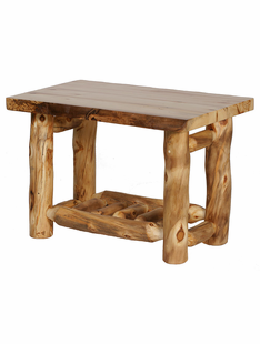 BLUE RIDGE ASPEN END TABLE
