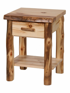 BLUE RIDGE ASPEN SIDE TABLE W/DRAWER