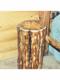 BLUE RIDGE ASPEN STUMP TABLE