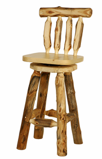 BLUE RIDGE ASPEN SWIVELING BARSTOOL W/BACK 30""