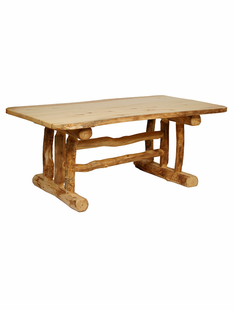 BLUE RIDGE ASPEN TRESTLE DINING TABLE 7'