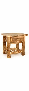 BLUE RIDGE KODIAK ASPEN 1 DRAWER NIGHTSTAND