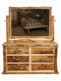 BLUE RIDGE KODIAK ASPEN 6 DRAWER DRESSER
