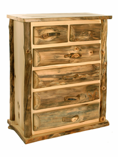 BLUE RIDGE KODIAK ASPEN 6 DRAWER SPLIT TOP CHEST