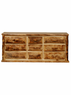 BLUE RIDGE KODIAK ASPEN 9 DRAWER DRESSER