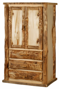 BLUE RIDGE KODIAK ASPEN ARMOIRE