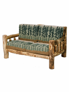 BLUE RIDGE KODIAK ASPEN LOVESEAT WITH CUSHIONS