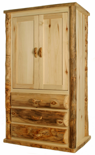 BLUE RIDGE KODIAK ASPEN TV ARMOIRE