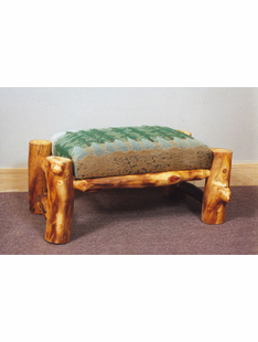BLUR RIDGE ASPEN OTTOMAN WITH CUSHION