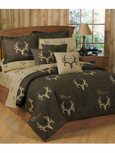 BONE COLLECTOR BED SET TWIN