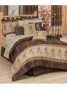 BROWNING BUCKMARK BED SET TWIN