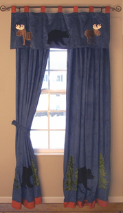 CHILDRENS LODGE DRAPES