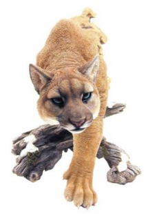COUGAR- THE HUNTER SCULPTURE