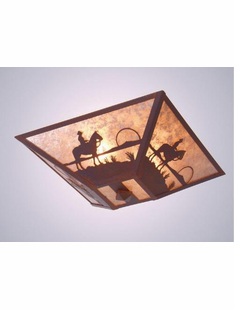 COWBOY SUNSET CEILING DROP MOUNT