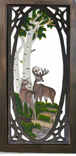 DEER SCREEN DOOR
