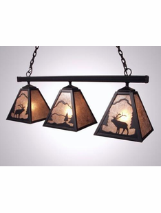 "ELK TRIPLE ANACOSTI LIGHT- 13""H X 35""W X 9""D"
