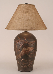 FISH POT TABLE LAMP