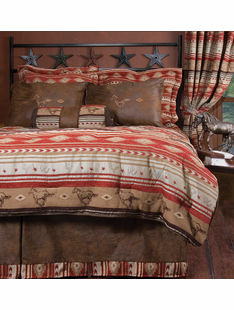 FLYING HORSE BED SET TWIN