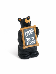 Free Bear Hugs Figurine