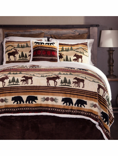 Hinterland Plush Bedding Sets