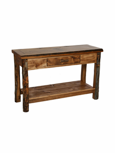 HOMESTEAD SOFA TABLE (1 DRAWER & SHELF)