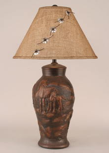 HORSE POT TABLE LAMP