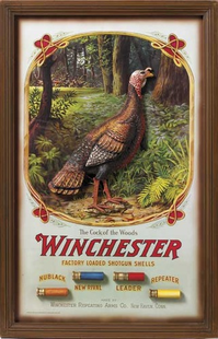 HUNTING TURKEY SIGN