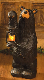 Koleman Bear Carving
