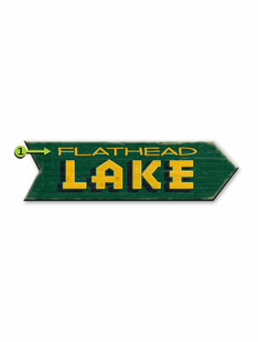 LAKE ARROW PERSONALIZED SIGN