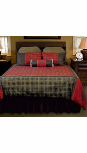 LAKE OF THE WOODS BED SET TWIN