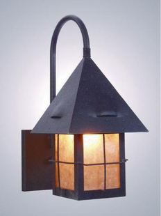 LAPAZ RUSTIC STEEL WALL SCONCE