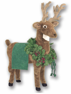 LARGE GREEN REINDEER -39""