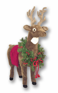 LARGE RED REINDEER -39""