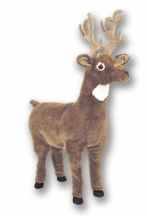 LARGE REINDEER (FOOT REST)-39""