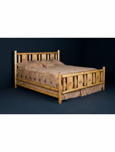MONTANA CONVENTIONAL PINE LOG HEADBOARDS