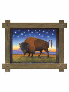 Montana Power ( BUFFALO)- By Monte Dolack