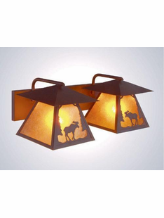 MOOSE- 2 LIGHT PRAIRE VANITY