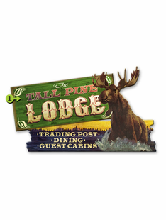 MOOSE LODGE PERSONALIZED SIGN