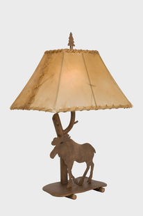 "MOOSE SHASTA TABLE LAMP-22""H X 16"" X 12""W"