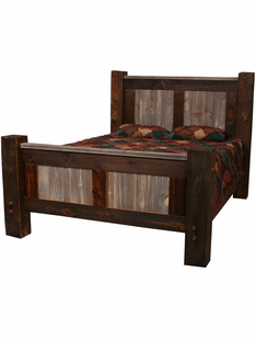 NATURAL BARNWOOD BIG TIMBERS BEDS