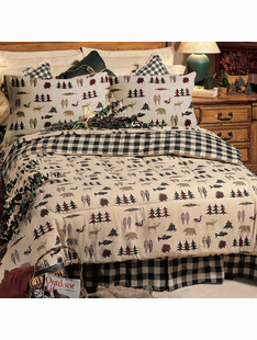 NORTHERN EXPOSURE BED SET KING