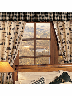 NORTHERN EXPOSURE CURTAINS/PAIR