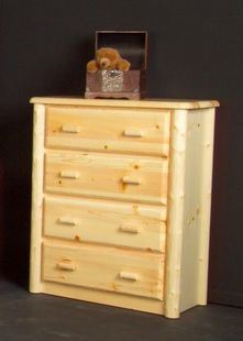 NORTHWOODS 4 DRAWER CHEST