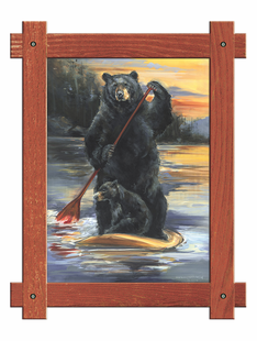 Paddle Board - Bears in the WILD
