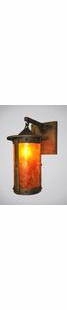 PASADENA ROUGE RIVER RUSTIC STEEL HANGING WALL SCONCE