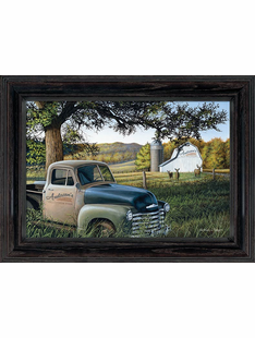 Personalized Canvas Art - Truck & Farm
