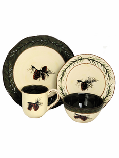 PINECONE DINNERWARE SET