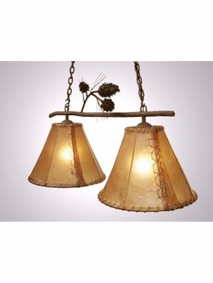 "PONDEROSA PINE DOUBLE ANACOSTI LIGHT- 18""H X 33""W X 14.5""D"